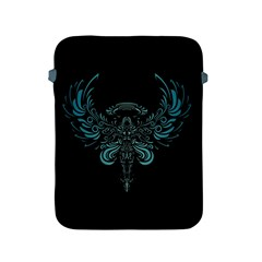 Angel Tribal Art Apple Ipad 2/3/4 Protective Soft Cases by BangZart