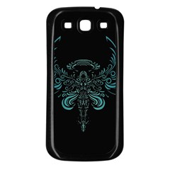 Angel Tribal Art Samsung Galaxy S3 Back Case (black) by BangZart