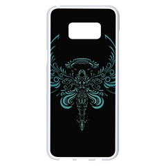 Angel Tribal Art Samsung Galaxy S8 Plus White Seamless Case