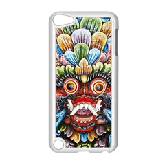 Wood Sculpture Bali Logo Apple Ipod Touch 5 Case (white) by BangZart