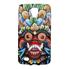 Wood Sculpture Bali Logo Galaxy S4 Active
