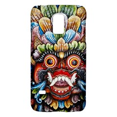 Wood Sculpture Bali Logo Galaxy S5 Mini