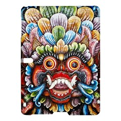 Wood Sculpture Bali Logo Samsung Galaxy Tab S (10 5 ) Hardshell Case