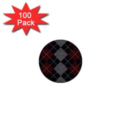 Wool Texture With Great Pattern 1  Mini Buttons (100 Pack)