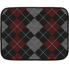 Wool Texture With Great Pattern Double Sided Fleece Blanket (mini)  by BangZart