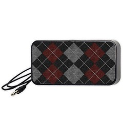 Wool Texture With Great Pattern Portable Speaker (black)