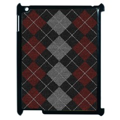 Wool Texture With Great Pattern Apple Ipad 2 Case (black) by BangZart