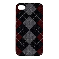 Wool Texture With Great Pattern Apple Iphone 4/4s Premium Hardshell Case by BangZart