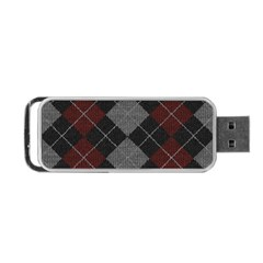 Wool Texture With Great Pattern Portable Usb Flash (one Side)