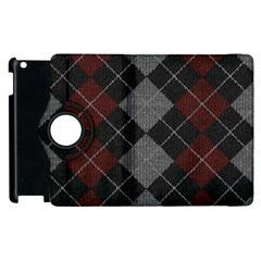 Wool Texture With Great Pattern Apple Ipad 3/4 Flip 360 Case by BangZart