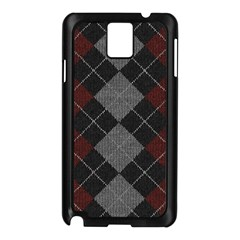 Wool Texture With Great Pattern Samsung Galaxy Note 3 N9005 Case (black)