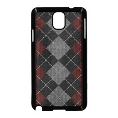 Wool Texture With Great Pattern Samsung Galaxy Note 3 Neo Hardshell Case (black)