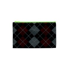 Wool Texture With Great Pattern Cosmetic Bag (xs) by BangZart