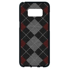 Wool Texture With Great Pattern Samsung Galaxy S8 Black Seamless Case