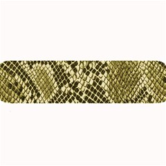 Yellow Snake Skin Pattern Large Bar Mats by BangZart