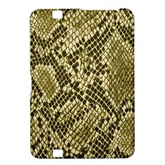 Yellow Snake Skin Pattern Kindle Fire Hd 8 9  by BangZart