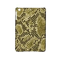 Yellow Snake Skin Pattern Ipad Mini 2 Hardshell Cases