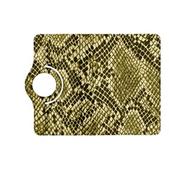 Yellow Snake Skin Pattern Kindle Fire Hd (2013) Flip 360 Case by BangZart