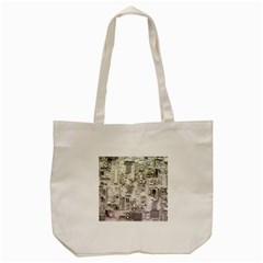 White Technology Circuit Board Electronic Computer Tote Bag (cream) by BangZart
