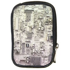 White Technology Circuit Board Electronic Computer Compact Camera Cases