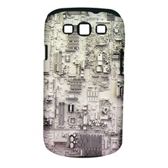 White Technology Circuit Board Electronic Computer Samsung Galaxy S Iii Classic Hardshell Case (pc+silicone) by BangZart