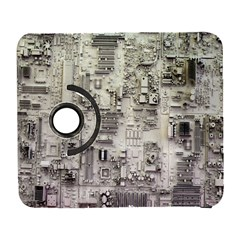 White Technology Circuit Board Electronic Computer Galaxy S3 (flip/folio)