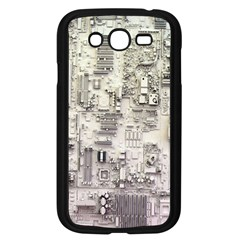 White Technology Circuit Board Electronic Computer Samsung Galaxy Grand Duos I9082 Case (black) by BangZart