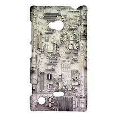 White Technology Circuit Board Electronic Computer Nokia Lumia 720 by BangZart