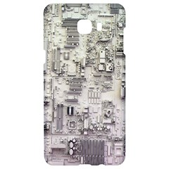 White Technology Circuit Board Electronic Computer Samsung C9 Pro Hardshell Case  by BangZart