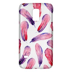 Watercolor Pattern With Feathers Galaxy S5 Mini