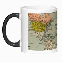 Vintage World Map Morph Mugs