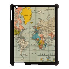 Vintage World Map Apple Ipad 3/4 Case (black) by BangZart