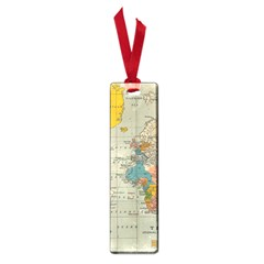 Vintage World Map Small Book Marks by BangZart