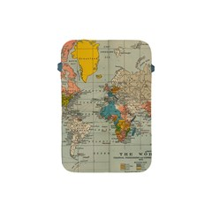 Vintage World Map Apple Ipad Mini Protective Soft Cases by BangZart