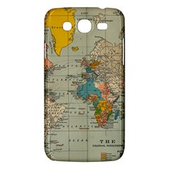 Vintage World Map Samsung Galaxy Mega 5 8 I9152 Hardshell Case  by BangZart