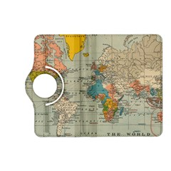 Vintage World Map Kindle Fire Hd (2013) Flip 360 Case by BangZart