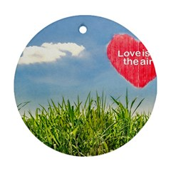 Love Concept Poster Ornament (round) by dflcprints