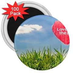 Love Concept Poster 3  Magnets (100 Pack) by dflcprints