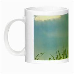 Love Concept Poster Night Luminous Mugs by dflcprints