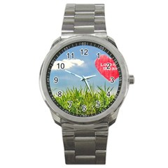 Love Concept Poster Sport Metal Watch by dflcprints