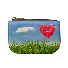 Love Concept Poster Mini Coin Purses by dflcprints