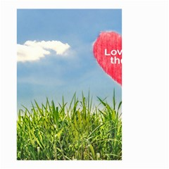 Love Concept Poster Small Garden Flag (two Sides) by dflcprints