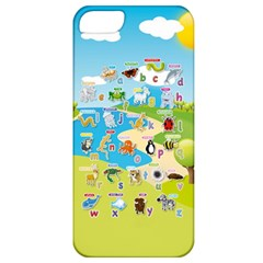 Animal Alphabet Cases Apple Iphone 5 Classic Hardshell Case by DBDesigns