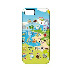 Animal Alphabet Cases Apple Iphone 5 Classic Hardshell Case (pc+silicone) by DBDesigns