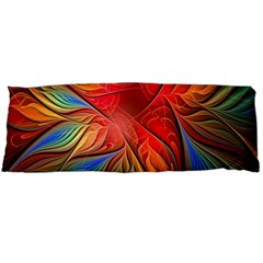 Vintage Colors Flower Petals Spiral Abstract Body Pillow Case Dakimakura (two Sides) by BangZart