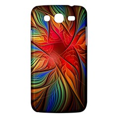 Vintage Colors Flower Petals Spiral Abstract Samsung Galaxy Mega 5 8 I9152 Hardshell Case  by BangZart