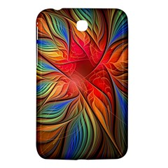 Vintage Colors Flower Petals Spiral Abstract Samsung Galaxy Tab 3 (7 ) P3200 Hardshell Case  by BangZart