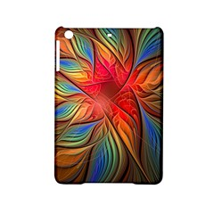 Vintage Colors Flower Petals Spiral Abstract Ipad Mini 2 Hardshell Cases