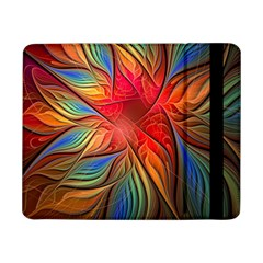 Vintage Colors Flower Petals Spiral Abstract Samsung Galaxy Tab Pro 8 4  Flip Case by BangZart