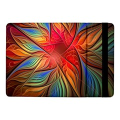 Vintage Colors Flower Petals Spiral Abstract Samsung Galaxy Tab Pro 10 1  Flip Case by BangZart